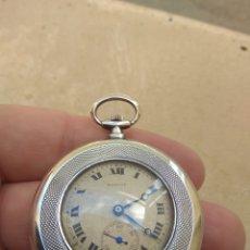Relojes de bolsillo: RELOJ DE BOLSILLO MARVIN - PLATA - LEER DESCRIPCIÓN -. Lote 161294261
