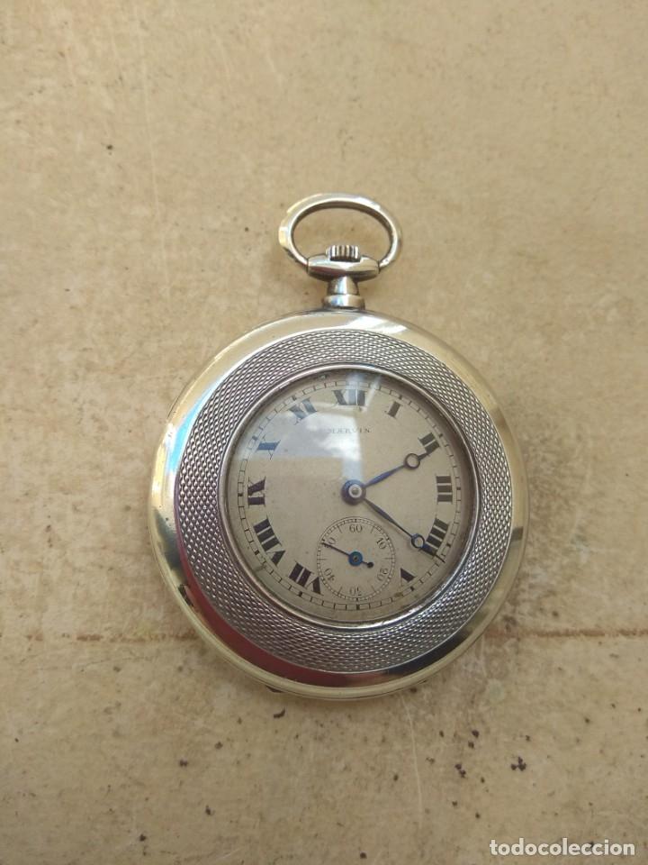 Relojes de bolsillo: Reloj de Bolsillo Marvin - Plata - Leer Descripción - - Foto 7 - 161294261