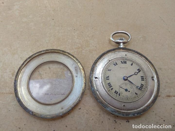 Relojes de bolsillo: Reloj de Bolsillo Marvin - Plata - Leer Descripción - - Foto 8 - 161294261