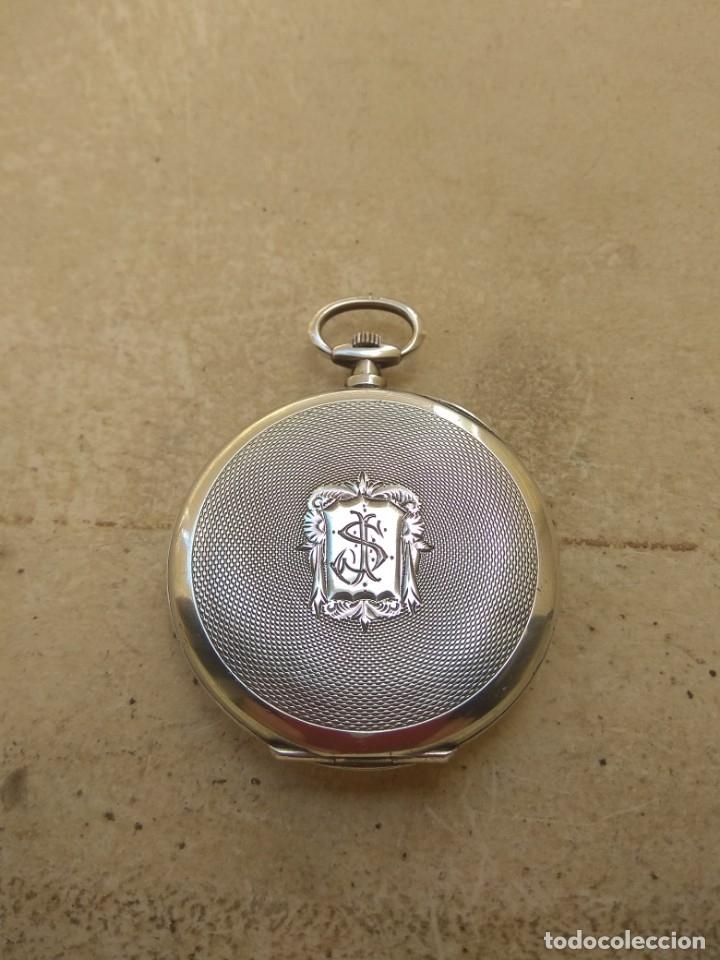 Relojes de bolsillo: Reloj de Bolsillo Marvin - Plata - Leer Descripción - - Foto 10 - 161294261