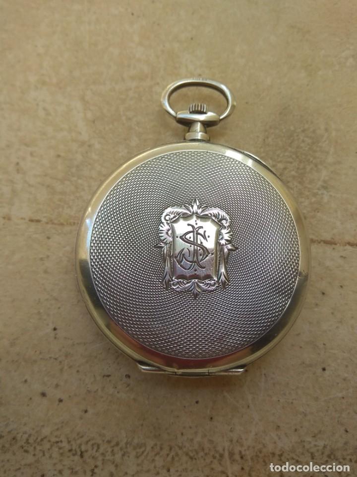 Relojes de bolsillo: Reloj de Bolsillo Marvin - Plata - Leer Descripción - - Foto 9 - 161294261