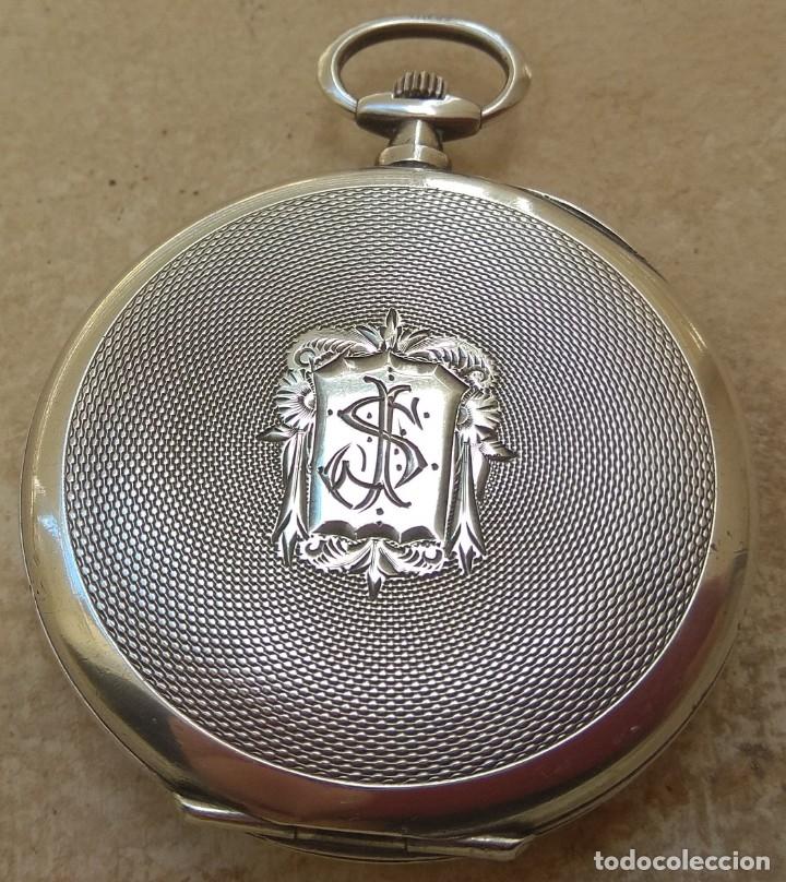 Relojes de bolsillo: Reloj de Bolsillo Marvin - Plata - Leer Descripción - - Foto 13 - 161294261
