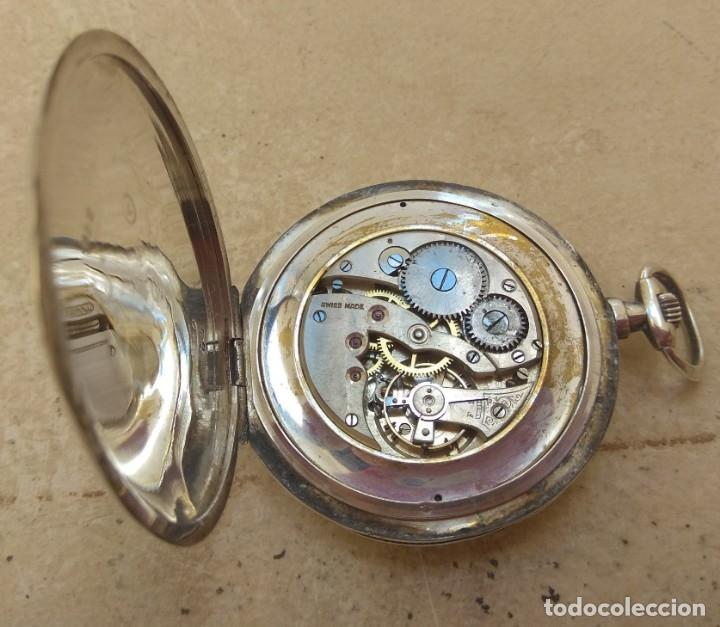 Relojes de bolsillo: Reloj de Bolsillo Marvin - Plata - Leer Descripción - - Foto 16 - 161294261