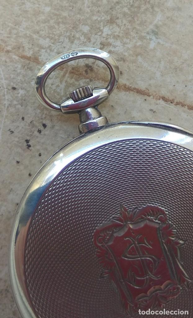 Relojes de bolsillo: Reloj de Bolsillo Marvin - Plata - Leer Descripción - - Foto 19 - 161294261