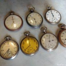 Relojes de bolsillo: LOTE DE RELOJES DE BOLSILLO - LEER DESCRIPCIÓN -. Lote 161808370