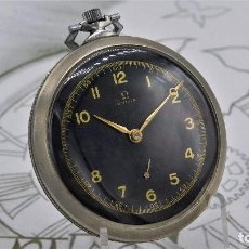 Relojes de bolsillo: OMEGA-RELOJ DE BOLSILLO-CIRCA 1919-EXTRAPLAN0-FUNCIONANDO. Lote 161830406