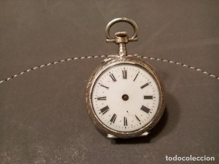 Relojes de bolsillo: *RELOJ DE MONJA. PLATA. (RF:BV/f) - Foto 2 - 162156262