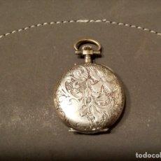 Relojes de bolsillo: *RELOJ DE MONJA . PLATA. (RF:BV/F). Lote 162157858