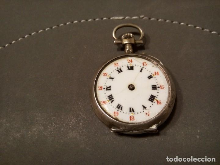 Relojes de bolsillo: *RELOJ DE MONJA . PLATA. (Rf:BV/f) - Foto 2 - 162157858