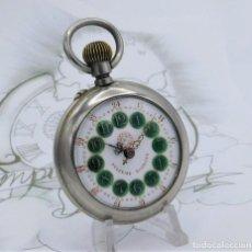Relojes de bolsillo: FANTÁSTICO Y GRAN RELOJ DE BOLSILLO MESSAGGERO-ROSKOPF-CIRCA 1920-SUIZA-FUNCIONANDO. Lote 162188618