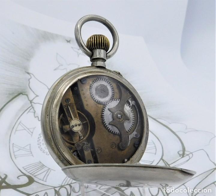 Relojes de bolsillo: FANTÁSTICO Y GRAN RELOJ DE BOLSILLO MESSAGGERO-ROSKOPF-CIRCA 1920-SUIZA-FUNCIONANDO - Foto 2 - 162188618