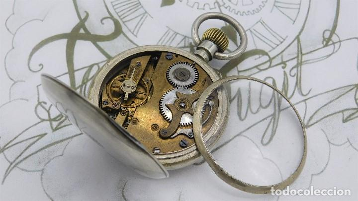 Relojes de bolsillo: FANTÁSTICO Y GRAN RELOJ DE BOLSILLO MESSAGGERO-ROSKOPF-CIRCA 1920-SUIZA-FUNCIONANDO - Foto 3 - 162188618