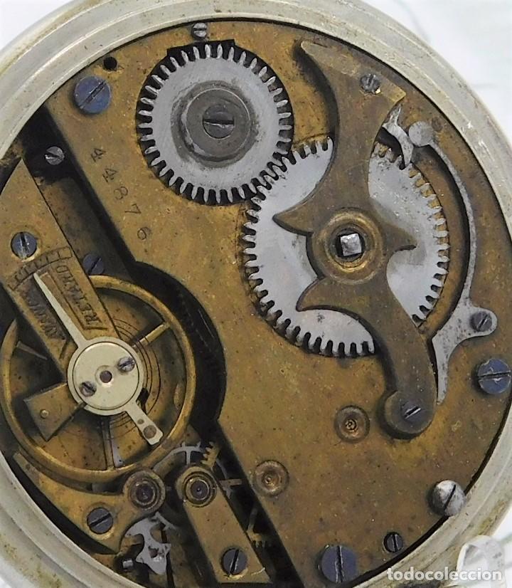 Relojes de bolsillo: FANTÁSTICO Y GRAN RELOJ DE BOLSILLO MESSAGGERO-ROSKOPF-CIRCA 1920-SUIZA-FUNCIONANDO - Foto 4 - 162188618