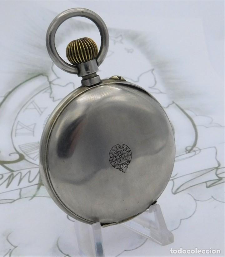 Relojes de bolsillo: FANTÁSTICO Y GRAN RELOJ DE BOLSILLO MESSAGGERO-ROSKOPF-CIRCA 1920-SUIZA-FUNCIONANDO - Foto 6 - 162188618
