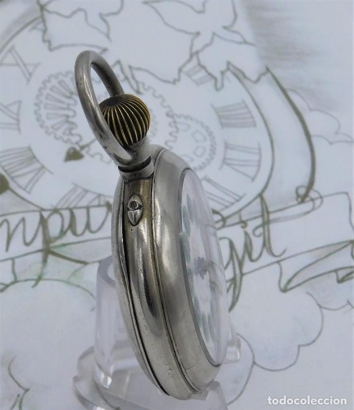 Relojes de bolsillo: FANTÁSTICO Y GRAN RELOJ DE BOLSILLO MESSAGGERO-ROSKOPF-CIRCA 1920-SUIZA-FUNCIONANDO - Foto 8 - 162188618
