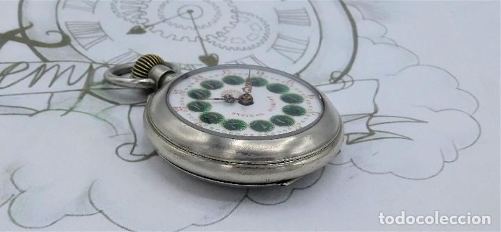 Relojes de bolsillo: FANTÁSTICO Y GRAN RELOJ DE BOLSILLO MESSAGGERO-ROSKOPF-CIRCA 1920-SUIZA-FUNCIONANDO - Foto 11 - 162188618
