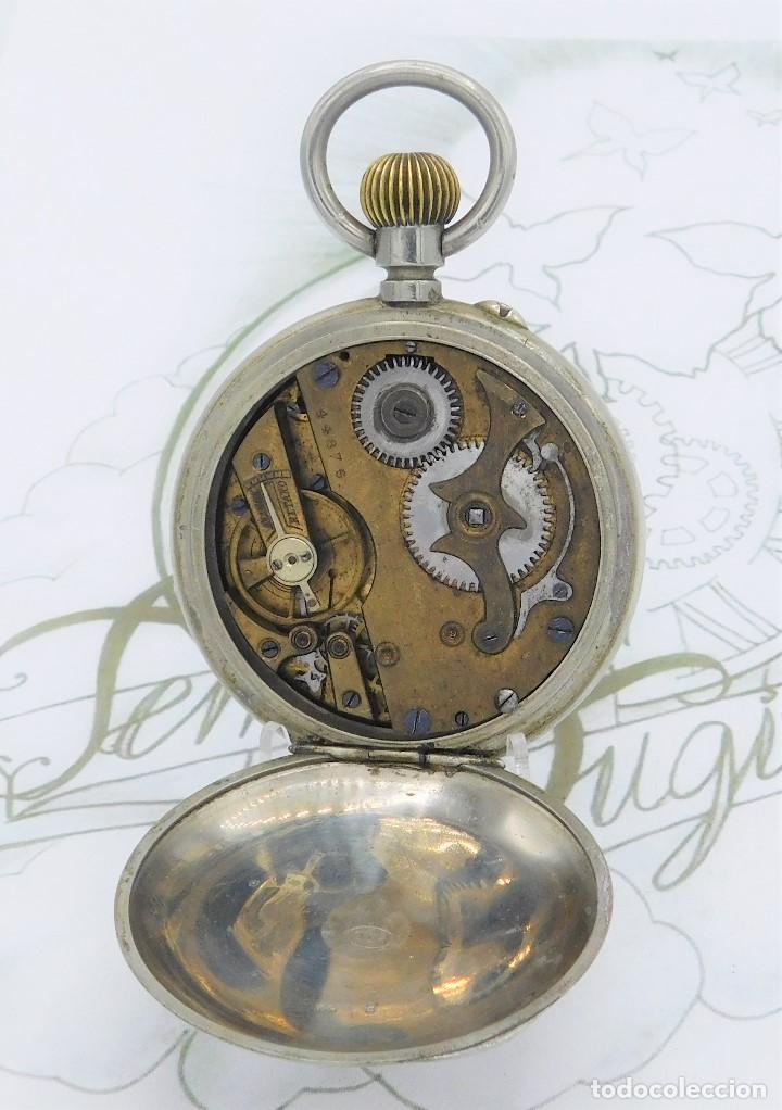 Relojes de bolsillo: FANTÁSTICO Y GRAN RELOJ DE BOLSILLO MESSAGGERO-ROSKOPF-CIRCA 1920-SUIZA-FUNCIONANDO - Foto 12 - 162188618
