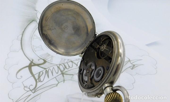 Relojes de bolsillo: FANTÁSTICO Y GRAN RELOJ DE BOLSILLO MESSAGGERO-ROSKOPF-CIRCA 1920-SUIZA-FUNCIONANDO - Foto 13 - 162188618