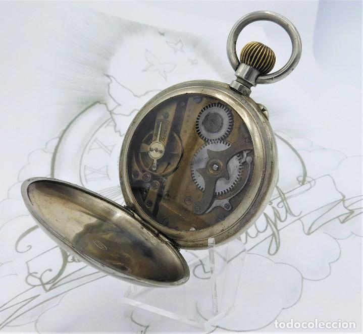 Relojes de bolsillo: FANTÁSTICO Y GRAN RELOJ DE BOLSILLO MESSAGGERO-ROSKOPF-CIRCA 1920-SUIZA-FUNCIONANDO - Foto 14 - 162188618