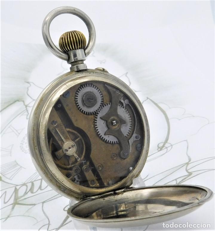 Relojes de bolsillo: FANTÁSTICO Y GRAN RELOJ DE BOLSILLO MESSAGGERO-ROSKOPF-CIRCA 1920-SUIZA-FUNCIONANDO - Foto 15 - 162188618