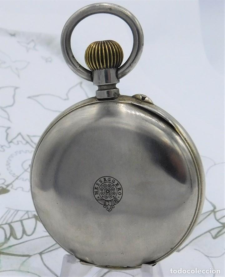 Relojes de bolsillo: FANTÁSTICO Y GRAN RELOJ DE BOLSILLO MESSAGGERO-ROSKOPF-CIRCA 1920-SUIZA-FUNCIONANDO - Foto 16 - 162188618