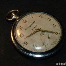 Taschenuhren - Precioso reloj LIP DAUPHINE bolsillo mecanico 15 rubis CALIBRE R167 buen tamaño clasico años 50 - 162421366