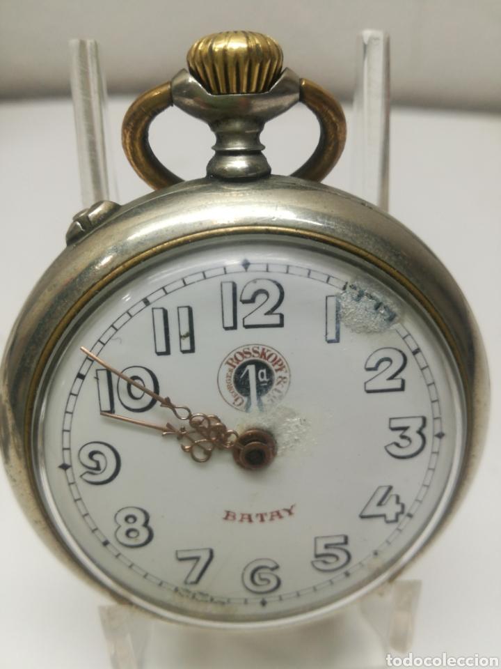 Relojes de bolsillo: Reloj antiguo G .Roskopf - Foto 2 - 162610542