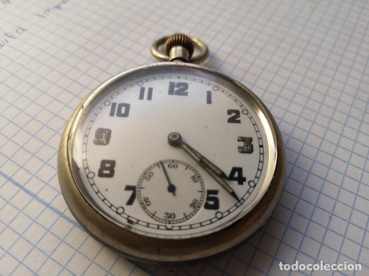 RELOJ MILITAR DE BOLSILLO (Relojes - Bolsillo Carga Manual)