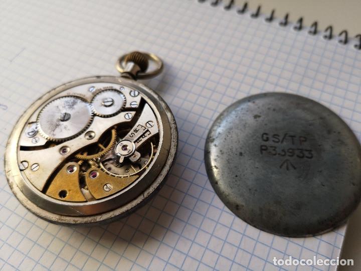 Relojes de bolsillo: RELOJ MILITAR DE BOLSILLO - Foto 3 - 162764814