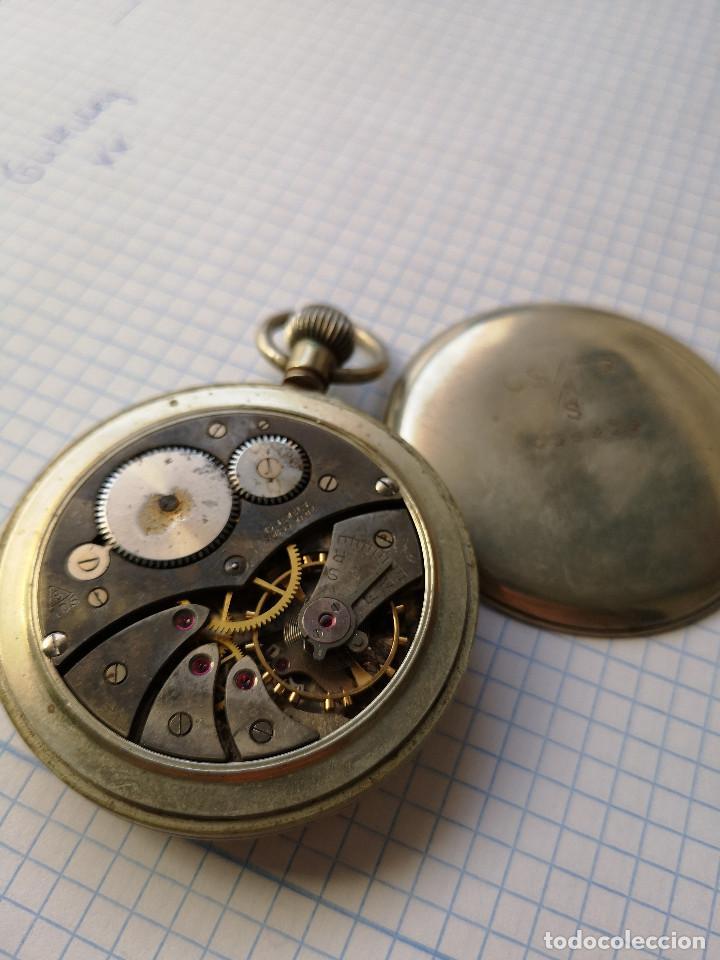 Relojes de bolsillo: RELOJ DE BOLSILLO MILITAR - Foto 3 - 162765430