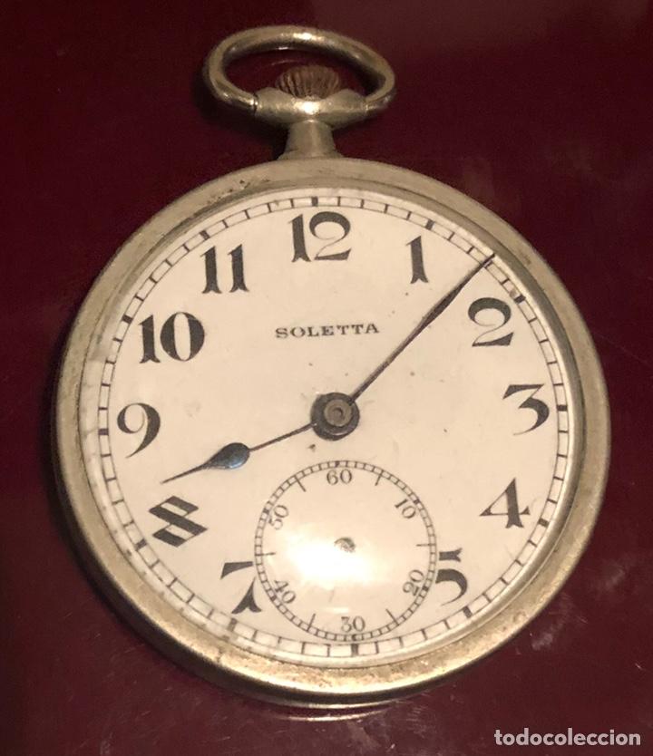 ANTIGUO RELOJ SUIZO DE BOLSILLO BOLETTA (Relojes - Bolsillo Carga Manual)