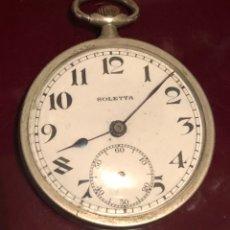 Relojes de bolsillo: ANTIGUO RELOJ SUIZO DE BOLSILLO BOLETTA. Lote 162792720
