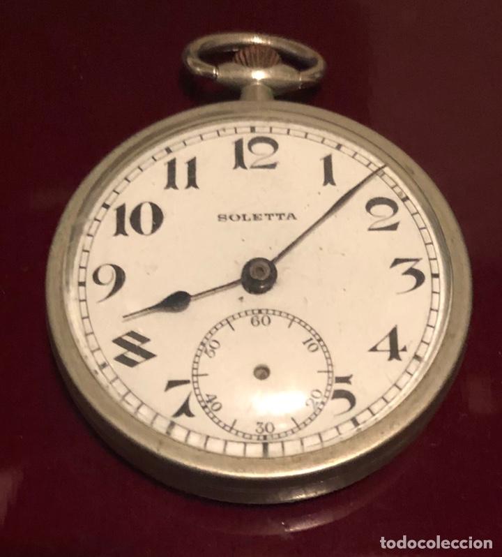 Relojes de bolsillo: Antiguo reloj suizo de bolsillo Boletta - Foto 2 - 162792720