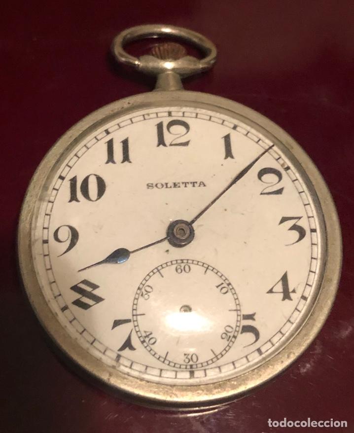 Relojes de bolsillo: Antiguo reloj suizo de bolsillo Boletta - Foto 3 - 162792720