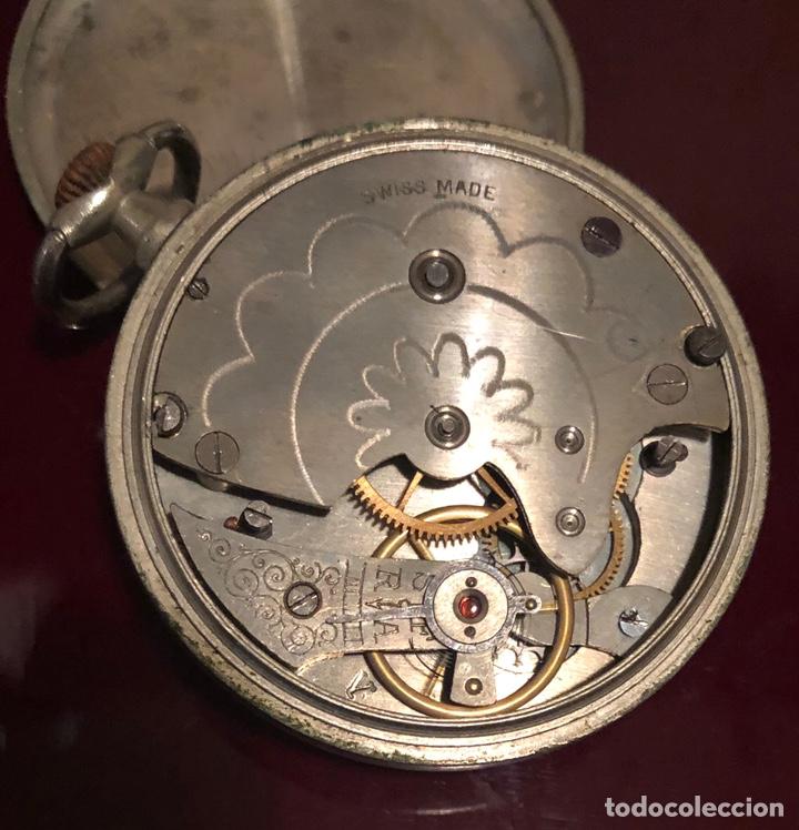Relojes de bolsillo: Antiguo reloj suizo de bolsillo Boletta - Foto 7 - 162792720