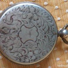 Relojes de bolsillo: RELOJ DE BOLSILLO DE PLATA, TURCO, FINALES SIGLO XIX. Lote 163047278