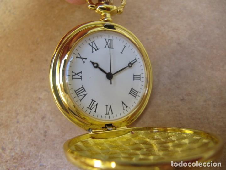 Relojes de bolsillo: RELOJ DE BOLSILLO CON MAQUINARIA DE ALTA CALIDAD CON SISTEMA DE RUEDA - Foto 3 - 180419090