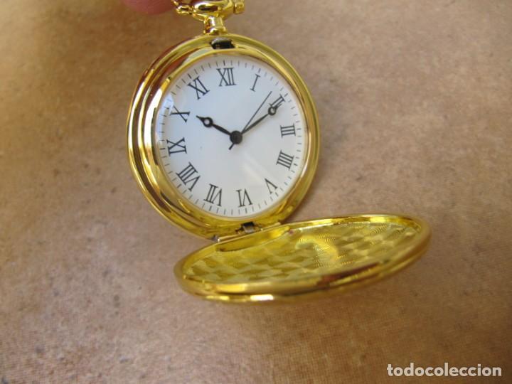 Relojes de bolsillo: RELOJ DE BOLSILLO CON MAQUINARIA DE ALTA CALIDAD CON SISTEMA DE RUEDA - Foto 5 - 180419090