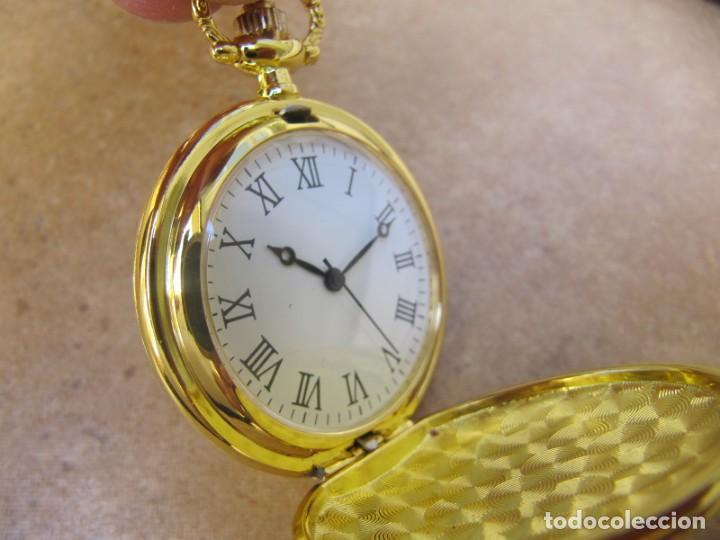 Relojes de bolsillo: RELOJ DE BOLSILLO CON MAQUINARIA DE ALTA CALIDAD CON SISTEMA DE RUEDA - Foto 6 - 180419090