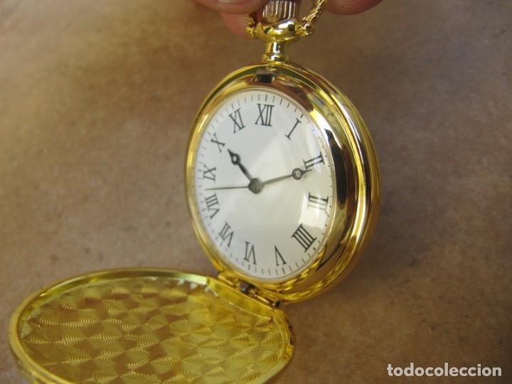 Relojes de bolsillo: RELOJ DE BOLSILLO CON MAQUINARIA DE ALTA CALIDAD CON SISTEMA DE RUEDA - Foto 8 - 180419090