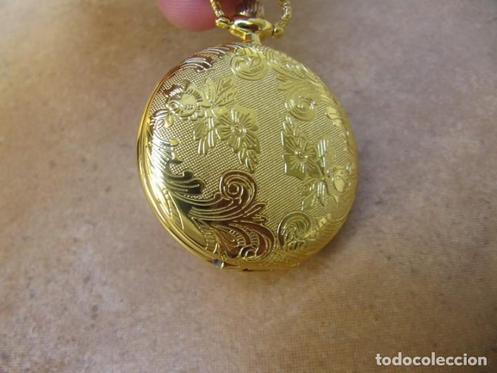 Relojes de bolsillo: RELOJ DE BOLSILLO CON MAQUINARIA DE ALTA CALIDAD CON SISTEMA DE RUEDA - Foto 9 - 180419090
