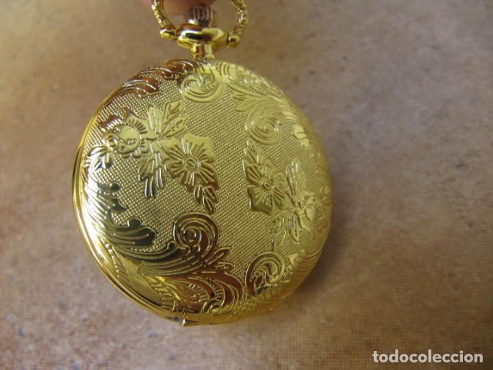 Relojes de bolsillo: RELOJ DE BOLSILLO CON MAQUINARIA DE ALTA CALIDAD CON SISTEMA DE RUEDA - Foto 11 - 180419090