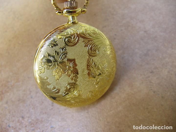 Relojes de bolsillo: RELOJ DE BOLSILLO CON MAQUINARIA DE ALTA CALIDAD CON SISTEMA DE RUEDA - Foto 12 - 180419090