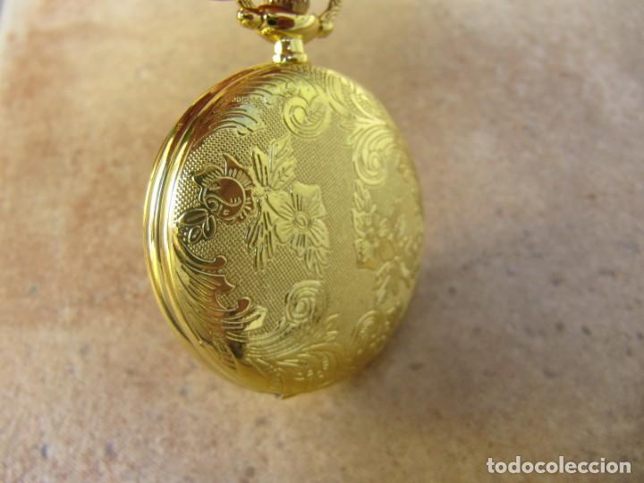 Relojes de bolsillo: RELOJ DE BOLSILLO CON MAQUINARIA DE ALTA CALIDAD CON SISTEMA DE RUEDA - Foto 13 - 180419090