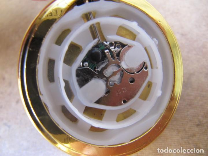 Relojes de bolsillo: RELOJ DE BOLSILLO CON MAQUINARIA DE ALTA CALIDAD CON SISTEMA DE RUEDA - Foto 14 - 180419090