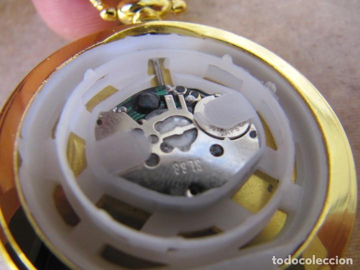 Relojes de bolsillo: RELOJ DE BOLSILLO CON MAQUINARIA DE ALTA CALIDAD CON SISTEMA DE RUEDA - Foto 16 - 180419090