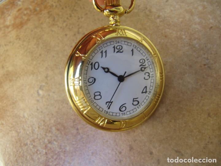RELOJ DE BOLSILLO CON MAQUINARIA DE CALIDAD CON SISTEMA DE RUEDA (Relojes - Bolsillo Carga Manual)