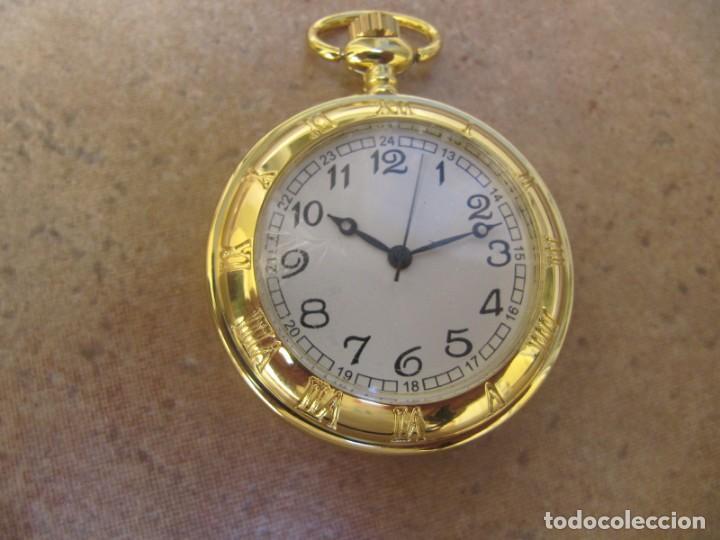 Relojes de bolsillo: RELOJ DE BOLSILLO CON MAQUINARIA DE CALIDAD CON SISTEMA DE RUEDA - Foto 4 - 163435890