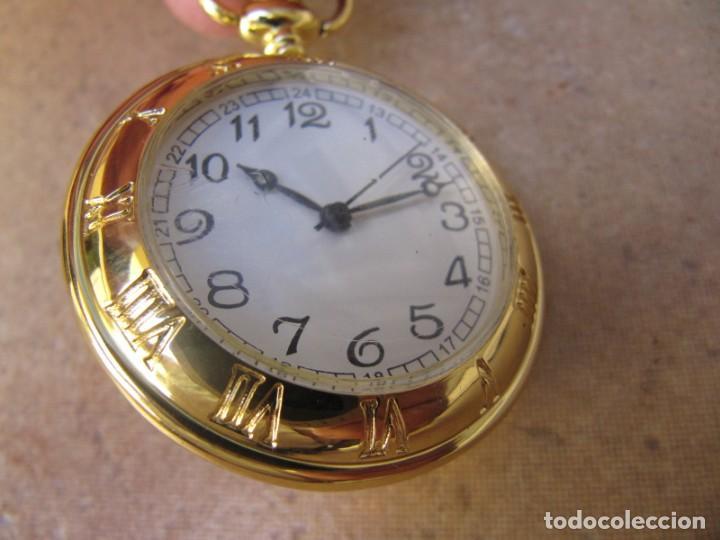 Relojes de bolsillo: RELOJ DE BOLSILLO CON MAQUINARIA DE CALIDAD CON SISTEMA DE RUEDA - Foto 5 - 163435890