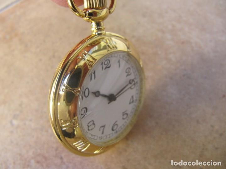 Relojes de bolsillo: RELOJ DE BOLSILLO CON MAQUINARIA DE CALIDAD CON SISTEMA DE RUEDA - Foto 6 - 163435890